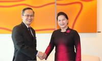 Nguyên Thi Kim Ngân effectue une tournée à Singapour et en Australie