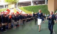 L'épouse du président polonais à l'école Marie Curie à Hanoi