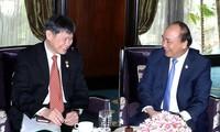 Rencontres de Nguyên Xuân Phuc en marge de l'AMECS-8 et du CLMV-9