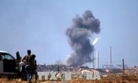 Israël riposte aux tirs du Hamas