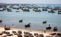 Die Freude des Fischerdorfs Vam Lang nach erfolgreicher Fischerei-Ernte