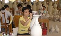 Die Wiederauferstehung des Keramikdorfs Chu Dau