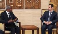 Die syrische Regierung akzeptiert Friedensplan