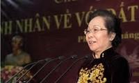 Vize-Staatspräsidentin Nguyen Thi Doan besucht Ha Nam