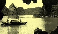 Die Halong-Bucht vor mehr als 100 Jahren