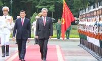 Österreichischer Bundespräsident Fischer besucht Vietnam