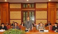 Eröffnung der Sitzung des Zentraltheorierats