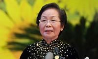 Vize-Staatspräsidentin Doan trifft Delegation aus Khanh Hoa