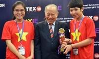 Gute Leistungen beim internationalen Wettbewerb für junge Erfinder
