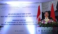 Treffen zum 40. Jahrestag der Vietnam-Kanada-Beziehungen