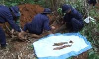 Vietnam will bis 2015 rund 10.000 sterbliche Überreste von gefallenen Soldaten finden