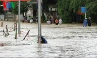 Beseitigung der Folgen von Überschwemmungen in Zentralvietnam
