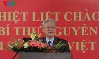 KPV-Generalsekretär Trong trifft Mitarbeiter der vietnamesischen Botschaft in Indien
