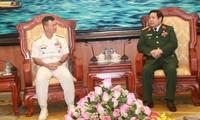 Verstärkte Zusammenarbeit zwischen Armeen Vietnams und der Philippinen