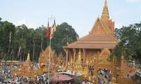 Aktivitäten zum Chol Chnam Thmay-Fest der Khmer