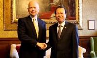 Vietnam und Großbritannien verstärken ihre umfassende Zusammenarbeit