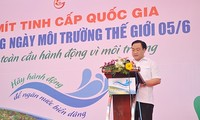 Vietnam unterstützt den internationalen Umwelttag