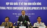 Vietnam protestiert gegen illegalen Bau durch China rund um Gac Ma-Insel