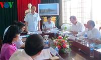 Nguyen Thien Nhan besucht Gemeinde Hoa Quang Nam