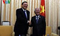 Barroso beendet seinen Vietnam-Besuch