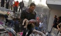 Palästina und die UNO rufen zur Nothilfe für den Gazastreifen auf