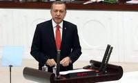 Türkeis Präsident Erdogan fordert Bodenoffensive gegen den IS
