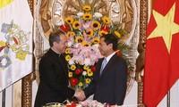 Starke Basis für diplomatische Beziehungen zwischen Vietnam und Vatikan