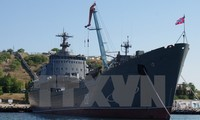 Russland stellt seinen Marinestützpunkt Krim wiederher