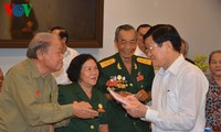 Staatspräsident trifft Kontaktgruppe ehemaliger revolutionärer Gefangener