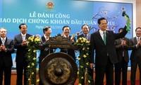 Börsenmarkt Vietnams soll sich stärker in den internationalen Markt eingliedern
