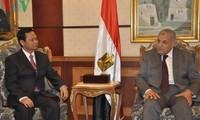 Generalinspekteur Huynh Phong Tranh trifft Ägyptens Premierminister
