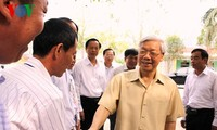 Der KPV-Generalsekretär besucht Lang Son