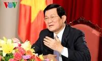 Truong Tan Sang antwortet auf Fragen von russischen Nachrichtenagenturen