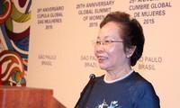 Vize-Staatspräsidentin Doan nimmt am 25. Weltfrauengipfel teil