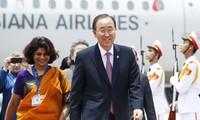 UN-Generalsekretär Ban Ki-moon besucht Vietnam