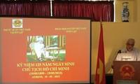 Aktivitäten zum 125. Geburstag von Präsident Ho Chi Minh im Ausland