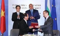 Gemeinsame Erklärung zwischen Vietnam und Bulgarien