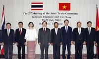 Vietnam und Thailand wollen ihr Handelsvolumen erhöhen