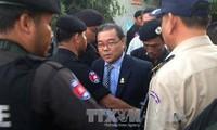Hun Sen unterstützt Festnahme des Verleumders aus der Opposition