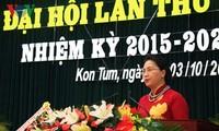 Parteisitzungen der Provinzen Bac Giang und Kon Tum