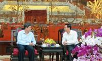 VOV-Vize-Intendant beglückwünscht Volkskomitee der Hauptstadt Hanoi