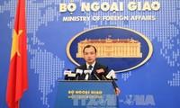 Vietnam respektiert Rechte auf Freiheit der Seefahrt und der Luftfahrt im Ostmeer