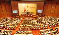 Parlamentarier diskutieren Gesetzentwürfe bezüglich Steuer