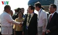 Staatspräsident Truong Tan Sang nimmt am 23. APEC-Gipfeltreffen teil