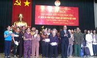 Festtag der Nationalsolidarität im Wohnviertel Dien Bien in Hanoi