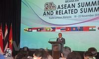 Verabschiedung wichtiger Dokumente auf dem 27. ASEAN-Gipfeltreffen