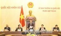 Ständiger Ausschuss verabschiedet Beschluss über Arbeitsregeln des Organs