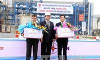 Einweihung des Wärmekraftwerks Mong Duong 1