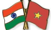 Vietnam und Indien verstärken Zusammenarbeit in Wirtschaft und Handel