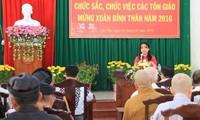 Treffen mit religiösen Würdenträgern und Auslandsvietnamesen
